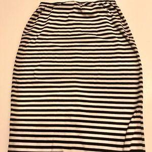 Xhilaration Skirts - Striped high low striped skirt